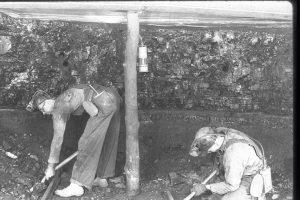 Miners Digging Coal, Public Domain, Source Wikimedia