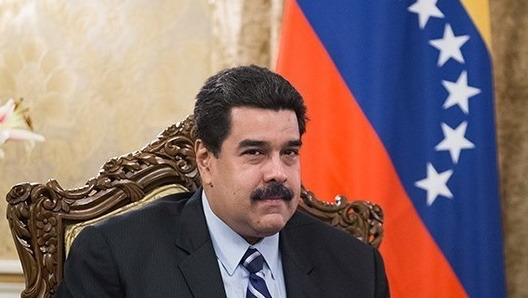 Venezuelan President, Nicolás Maduro in meeting with Iranian President Hassan Rouhani in Saadabad Palace