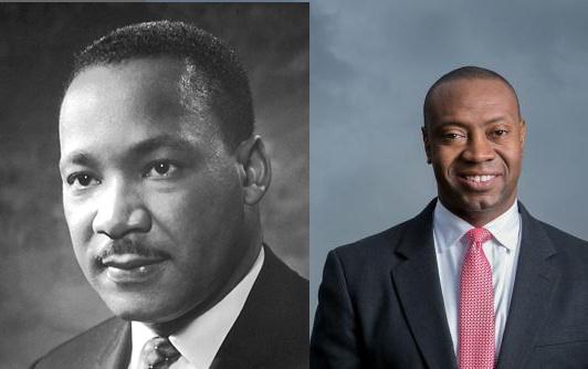 Martin Luther King and J. Marshall Shepherd