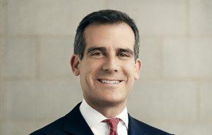 Mayor of Los Angeles Eric Garcetti
