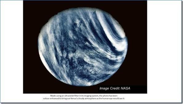 Figure 1: NASA Mariner 10's Portrait of Venus