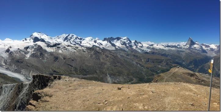 Zermatt in the Western Alps. Credit: F. von Blanckenburg