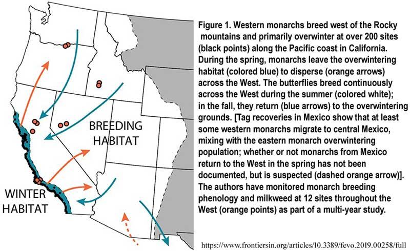western_monarch_map