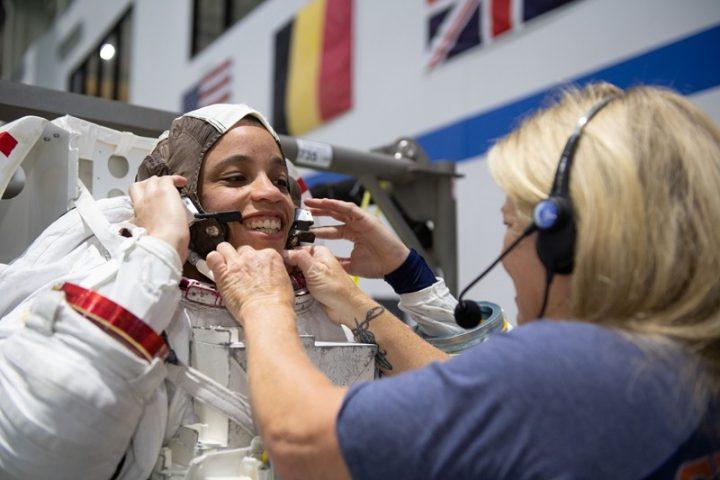 NASA astronaut Jessica Watkin