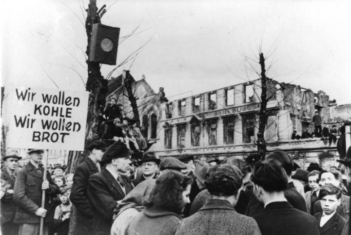 Hunger Protest 1947 Germany