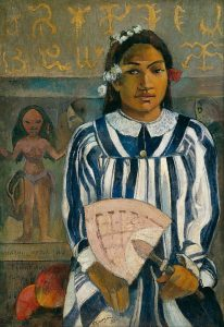 494px-Paul_Gauguin_-_The_Ancestors_of_Tehamana_OR_Tehamana_Has_Many_Parents_(Merahi_metua_no_Tehamana)_-_Google_Art_Project.jpg