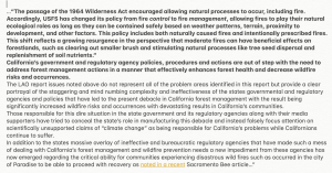 CALIFORNIA'S GOVERNMENT SOLELY RESPONSIBLE FOR STATES FOREST WILDFIRE DEBACLE*  .png