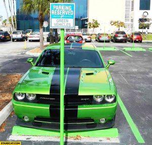 parking-reserved-for-green-vehicles-dodge-challenger-srt-muscle-car-parked.jpg