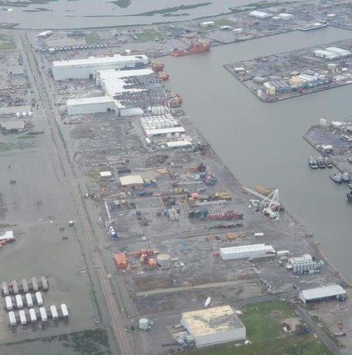 Port Fourchon Damage