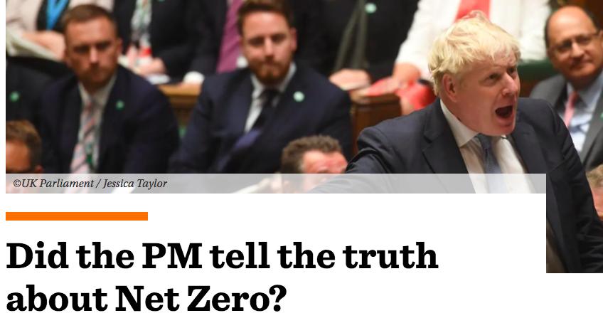 Craig Mackinlay MP: Did Boris Johnson tell the truth about Net Zero?