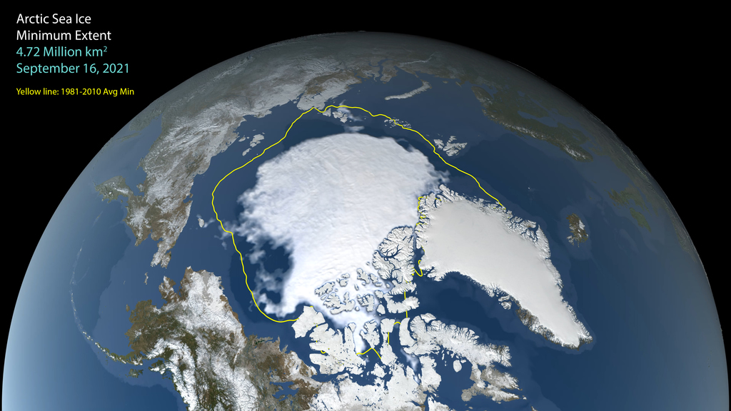 Sea ice growth after the summer minimum begins in the Canadian Arctic Archipelago