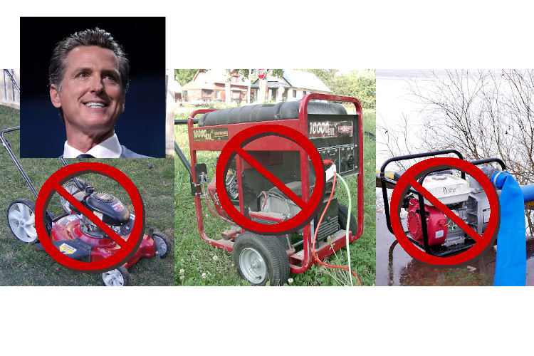 Net Zero California Governor Just Banned Backup Generators and Fire Pumps