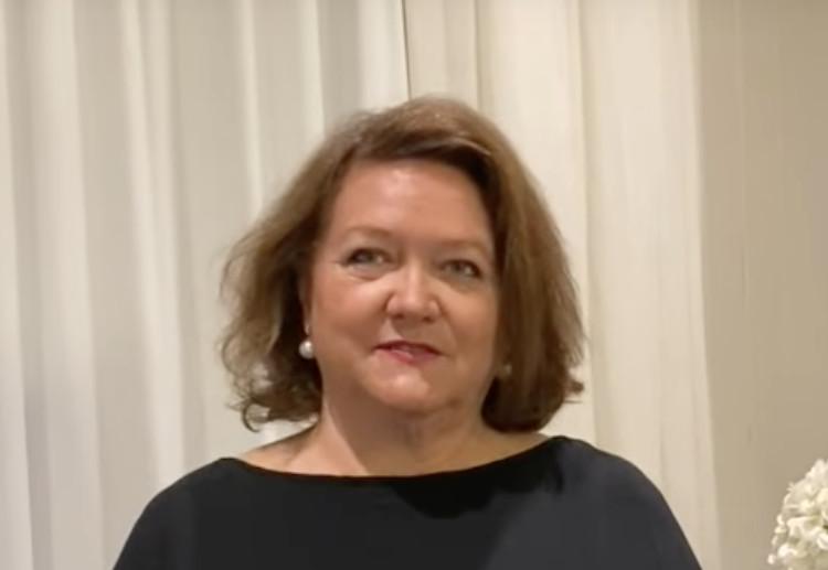 Aussie Mining Billionaire Gina Rinehart  Warns Students About Climate Propaganda